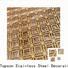 Topson New decorative wooden fretwork factory for landscape architecture