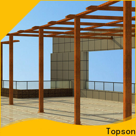 Topson Wholesale metal arches and pergolas manufacturers for garden