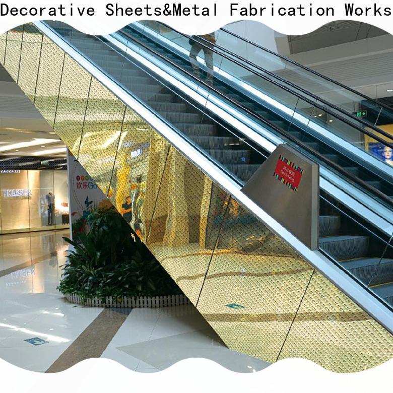 Wholesale aluminum cladding system door factory for elevator