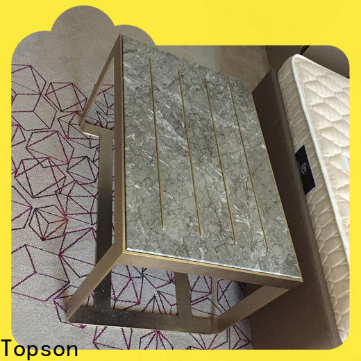 Topson marblestainless colored metal outdoor chairs for roof decoration