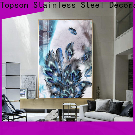 Topson parition exterior glass guardrail from wholesale for TV wall