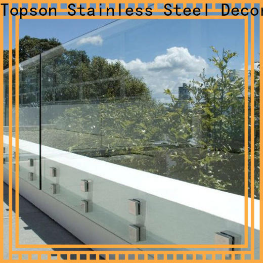 Topson High-quality glass and aluminum fabrication in china for outdoor