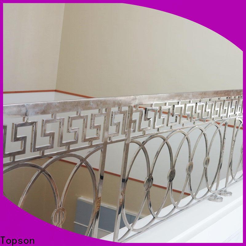 Custom stainless steel handrail details bridge manufacturers for hotel