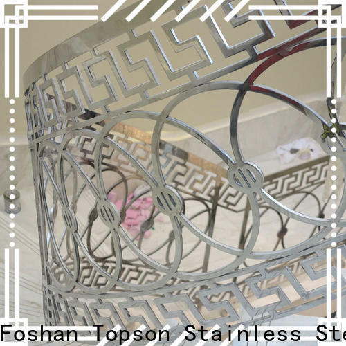 Topson advanced technology staircase handrail stainless steel Supply for room