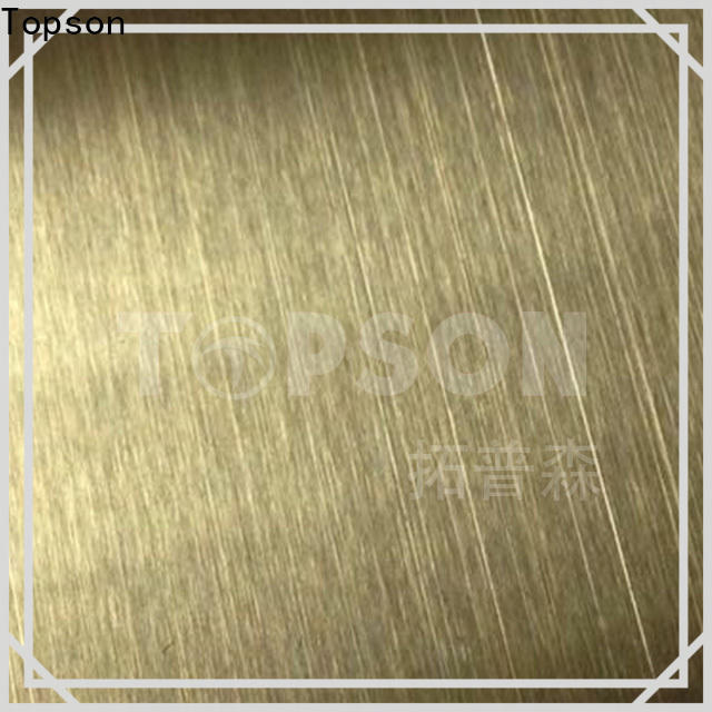 High-quality etched design stainless steel sheet finish Suppliers for furniture