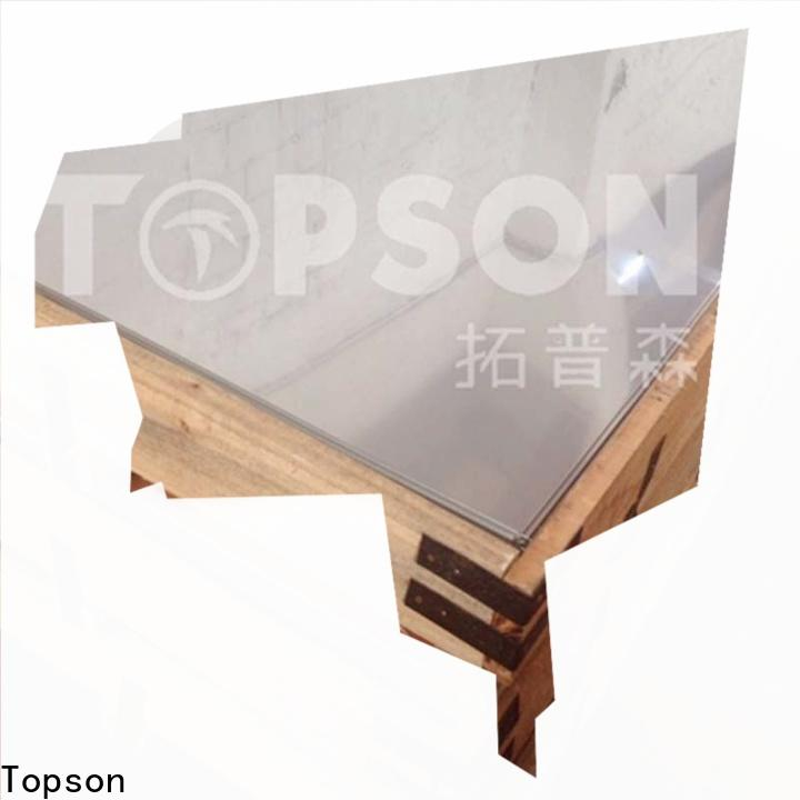 Topson decorative decorative stainless steel sheet metal Suppliers for partition screens
