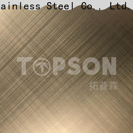 Top bead blast finish stainless steel steel manufacturers for kitchen