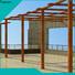 Topson Custom building a steel pergola Supply for park