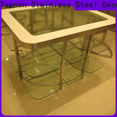 Topson marblestainless coloured metal garden table and chairs Suppliers for kitchen cabinet for bathroom cabinet decoratioin
