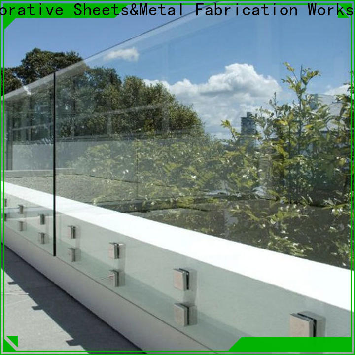 Topson widely used custom glass fabrication in china for restaurant