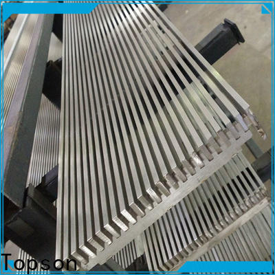 Topson widely used metal grating manufacturers factory for apartment
