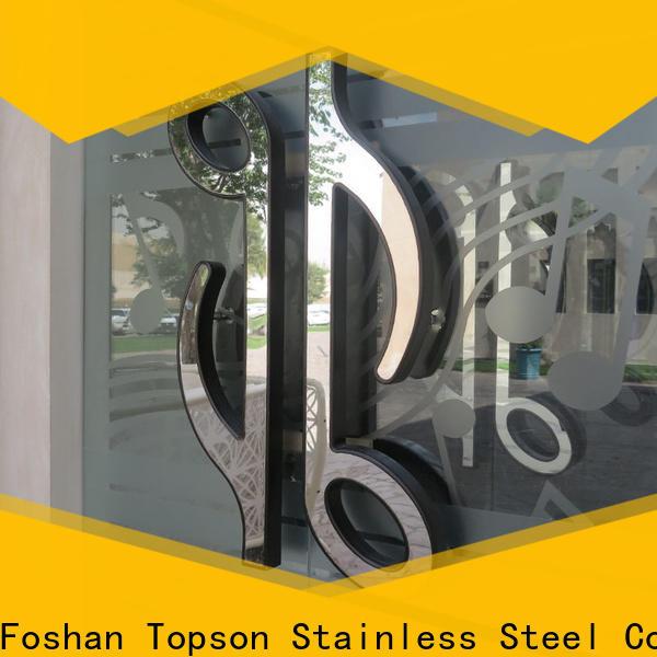 Topson steel kitchen stainless steel handles for kitchen decoration