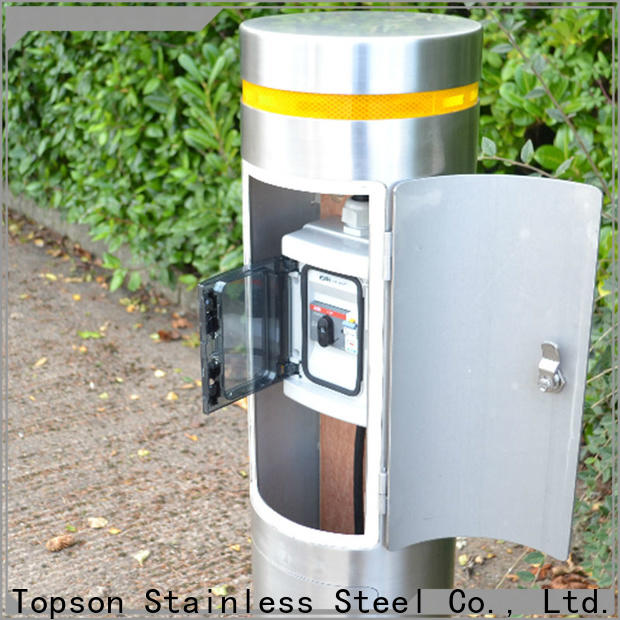 Topson Top marshalls stainless steel bollards Suppliers for apartment
