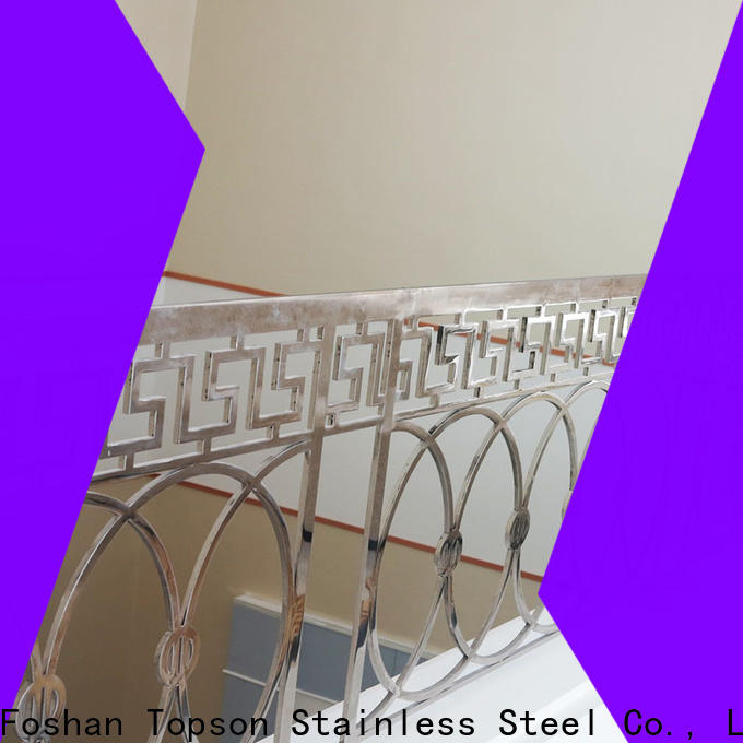 Topson stable stainless cable railing systems for hotel