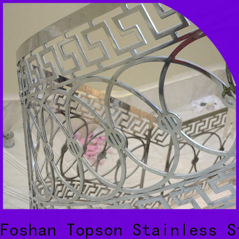 Topson bridge stainless railing hardware for apartment