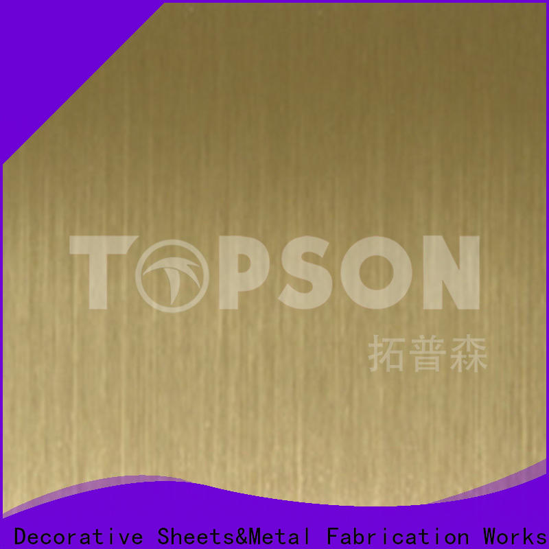 Topson Best decorative sheet steel company for furniture