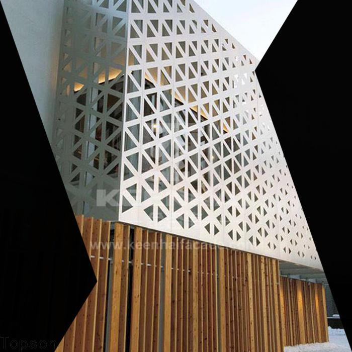 Topson mashrabiya panels company for building faced