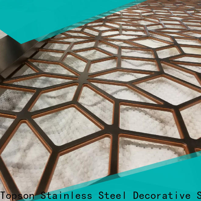 Topson meshperforated internal decorative screens manufacturer for protection
