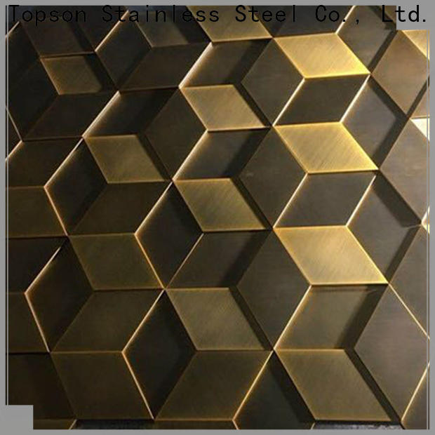 Topson high quality exterior metal cladding for elevator