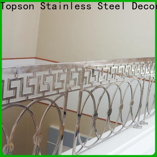 popular stainless steel interior railings bridge company for room