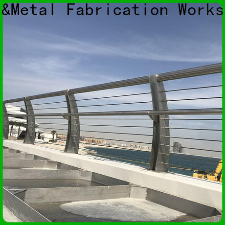 Topson staircase stainless steel handrail offers Supply for tower