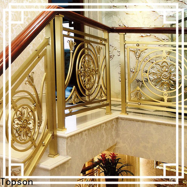 Topson curved buy stainless steel railings company for room