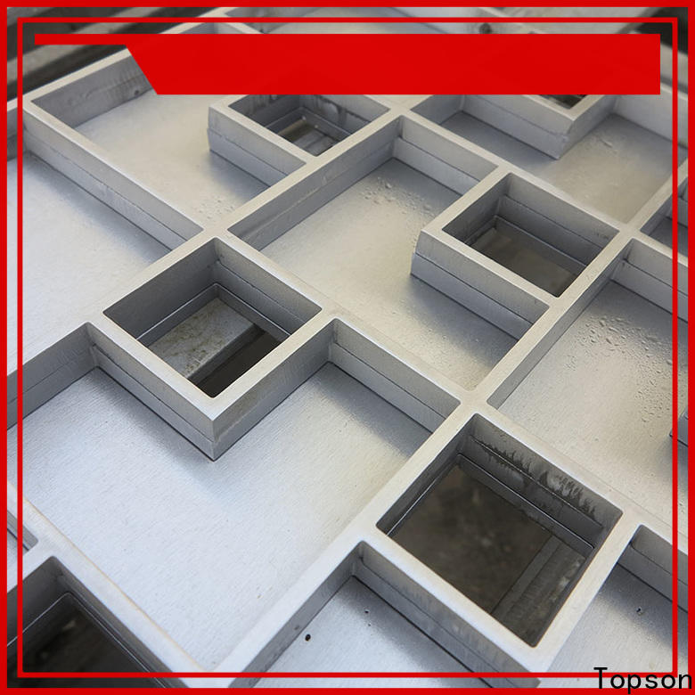 Topson tray small metal drain covers Suppliers for bridge corridor for area building