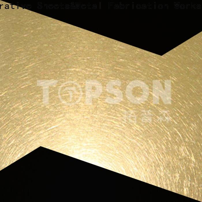 gorgeous black stainless steel sheet suppliers metal China for vanity cabinet decoration