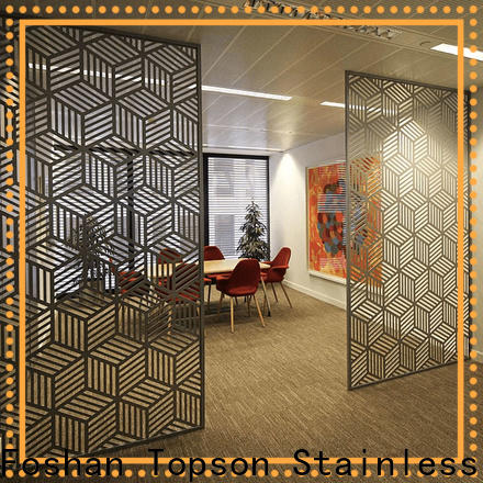 Topson mesh internal decorative screens factory for exterior decoration