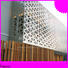 Topson durable outdoor metal screen panels manufacturer for building faced