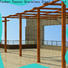 High-quality metal garden pergolas for sale powder for business for resort