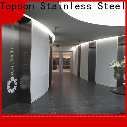double hung metal doors handles factory for building facades