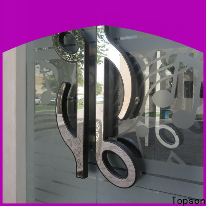Topson door stainless steel doors and frames manufacturers factory for interior