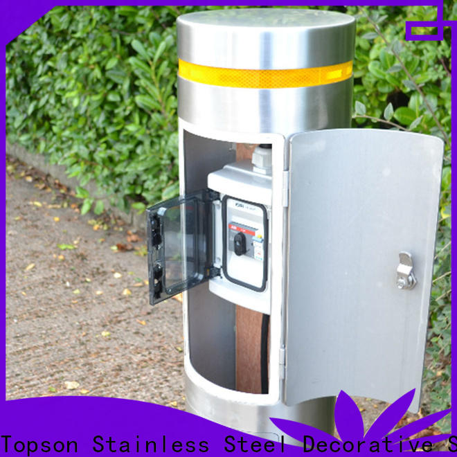 Topson Custom stainless steel bollards company for office