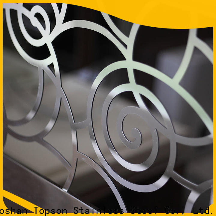 Topson Top stainless steel guardrail company for building