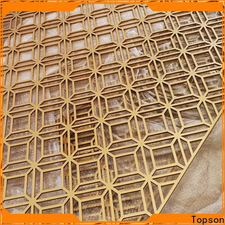 Topson mesh decorative metal mesh screen from china for landscape architecture