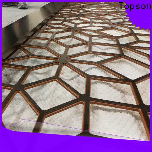 Topson chain decorative metal mesh screen export for landscape architecture