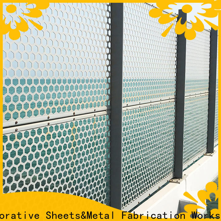 Topson screenperforated perforated mesh screen in china for building faced