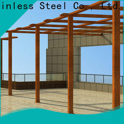 stain resistance modele pergola aluminium coated Suppliers for garden