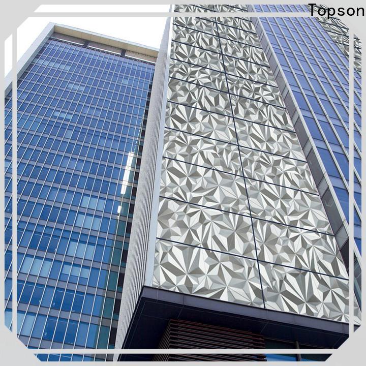 316 stainless steel handles & stainless steel pillar cladding