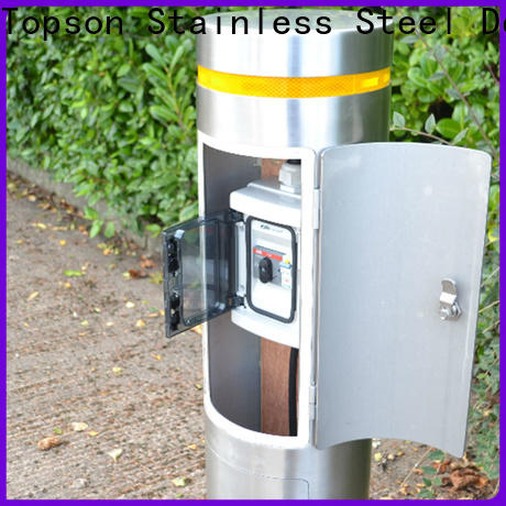 competetive price stainless steel bollard solar lights bollards manufacturers for office