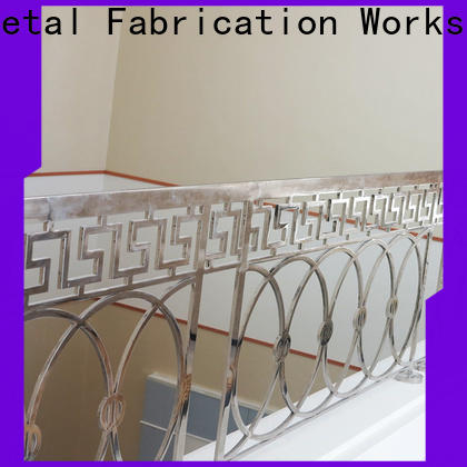 advanced technology china metal work balcony company for hotel