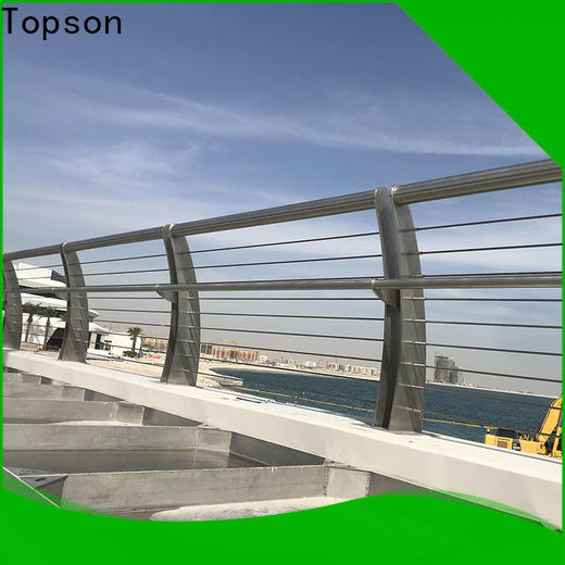 Topson good looking rope railing brackets Supply for office