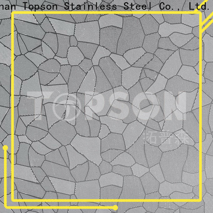 stainless steel sheet metal cost material Supply for interior wall decoration
