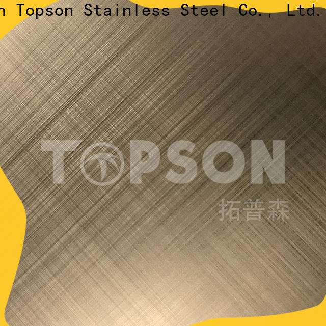 Topson gorgeous decorative steel sheet metal China for furniture