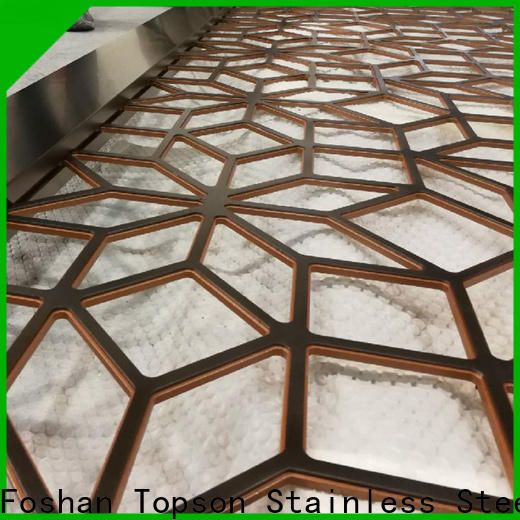 Topson mesh outdoor metal garden screens for business for landscape architecture