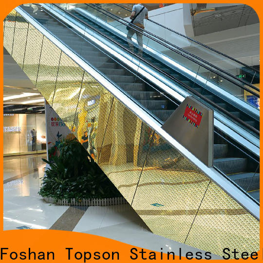Topson high reputation building cladding in china for elevator