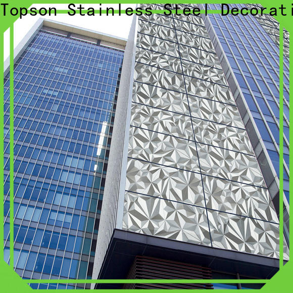 Topson jamb stainless steel metal roofing Suppliers for lift