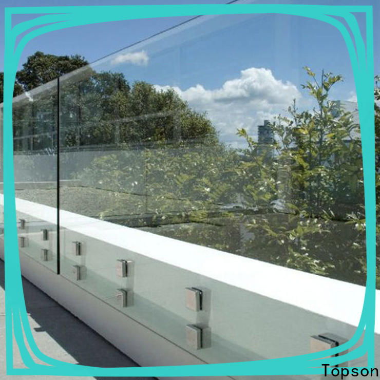 Topson stable building glass manufacturers factory for bar
