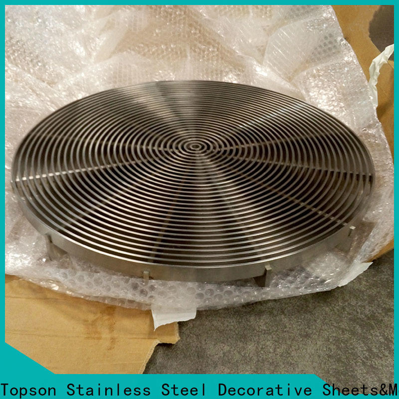 Topson gratingstainless galvanized steel bar grating company for hotel